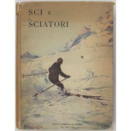 Sci e sciatori (le bellezze dello sci).