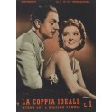 La coppia ideale Myrna Loy e William Powell.