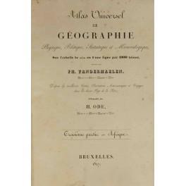 Atlas Universel de geographie physique, politique, statistique et mineralogique