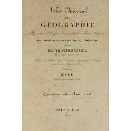 Atlas Universel de géegraphie physique, politique, statistique et mineralogique
