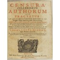 Censura celebriorum authorum sive Tractatus