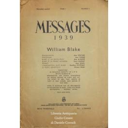 Messages 1939 - William Blake