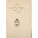 Omaggio della società storica Lombarda