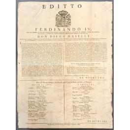 Editto Ferdinando IV