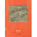 Costituzione e costituente