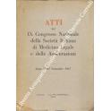 Atti del IX Congresso Nazionale della Società Italiana di Medicina Legale e delle Assicurazioni