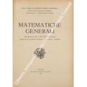 Matematiche generali