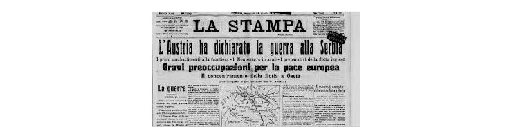 Storia d'Europa 1914-1918