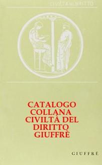 Copertina Catalogo Civiltà del diritto