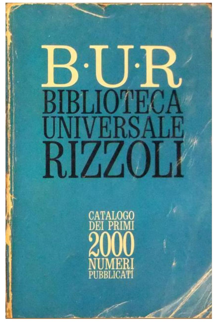 Catalogo BUR